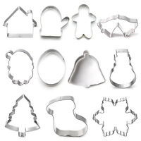 Baking Metal Aluminum Sugar Cake Biscuit Cookie Cutter Decor Mold Mould New