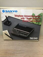 NOS Sanyo Answering Machine TAS 245 New Old Stock