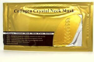 25 Pcs Gold Neck Masks Premium 24k Bio Collagen Pads High Moisturize Macys