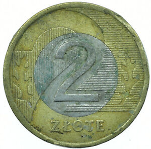 COIN / POLAND / 2 ZLOTYCH 1995 BEAUTIFUL COLLECTIBLE  #WT30457