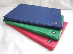 Heavy Duty Waterproof Dog Bed-Mat-Cushion-Pad / Washable Cover Hair Resistant