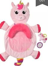 LITTLE TIKES 3 In 1 PLUSH UNICORN - PLAYMAT - TUMMY TIME PILLOW SUPPORT - BABY