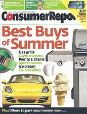 Consumer Reports Magazine June 2013 Gas Grills Lawn Mowers Sports Stores
