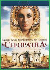 Cleopatra (1963) - Elizabeth Taylor, Richard Burton - Blu ray- NEW DVD