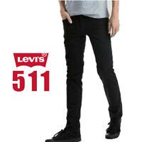 Original Levis 511 Jeans Denim Slim Fit Black Night Shine Jet Black Jeans
