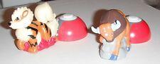 Burger King--Nintendo Launchers + toys..1999 Tauros + Growlithe..ex