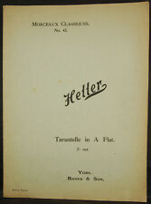 Morceaux Classiques No.43 - Heller 'Tarantelle in A Flat'