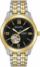 Bulova 98A168 Two Tone Stainless Steel Automatic Men's Watch