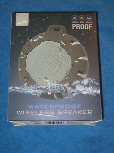 iLive ISBW157B Waterproof Dustproof Shockproof Bluetooth Wireless Speaker, New!
