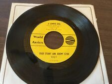 "CHAD STUART JEREMY CLYDE ""A SUMMER SONG/No Tears"" WORLD ARTS 1027 (1964) 45 RPM"
