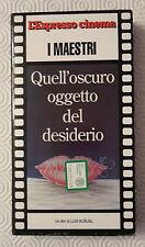 CS18> FILM VHS QUELL'OSCURO OGGETTO DEL DESIDERIO