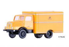 TILLIG 19004 Camión H3A con carrocería ' DEUTSCHE POST ',TT 1:120 NUEVO /