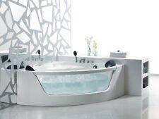 BAIGNORE d'angle baignoire en acrylique d-3023-155 Blanc