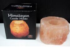 Himalaya - Salz - Kerzenhalter 8 cm Deko neu Teelichthalter