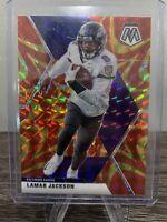 Lamar Jackson 2020 Mosaic Gold Reactive PRIZM Panini SP Football Ravens