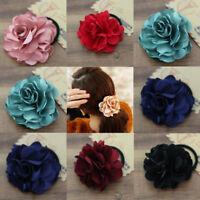 1PC Flowers Elastic Rope Ring Hairband Women Girls Hair Band Tie Ponytail Holder