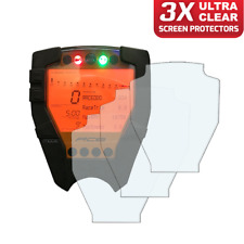 3 x KTM RC8 / RC8R 2008> Dashboard / Instrument Screen Protector: Ultra-Clear