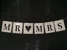 Hochzeitsdeko, Girlande, Mr. ❤ Mrs., Hochzeitsbanner, Vintage, Hochzeit, Banner
