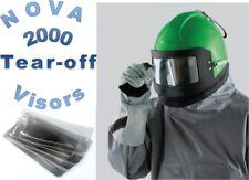NOVA 2000 BLAST HELMET -  Outer Tearoffs 5PKS of  6 Tear Off VISORS  FREE POST!