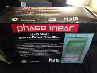 phase Linear PLA15 Car stereo power amplifier -SHIPS N 24 HOURS-BRAND NEW