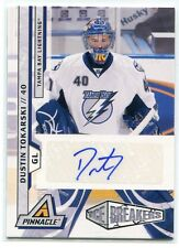 2010-11 Pinnacle 259 Dustin Tokarski Rookie Auto 5/299