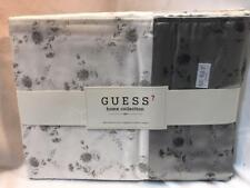 Guess Home Collection Tea Breeze King Flat Sheet White