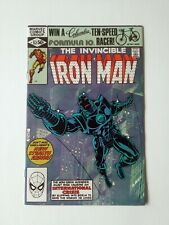 IRON MAN #152 VF TO NM 1ST STEALTH ARMOR MARVEL 1981