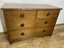 More details for antique vintage arts and crafts solid oak chest of drawers . delivery available
