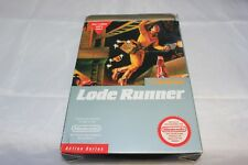 Lode Runner NES Complete in Box Box Not Mint