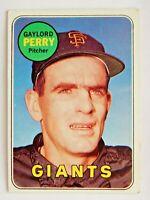 Gaylord Perry #485 Topps 1969 Baseball Card (San Francisco Giants) VG