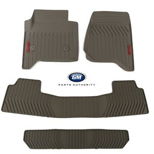 3rd Row Rubber Floor Mat for GMC Yukon #R3593 *13 Colors
