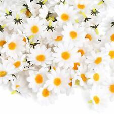 100Pcs Artificial Daisy Gerbera Heads Silk Flowers Wedding Birthday Party Decor