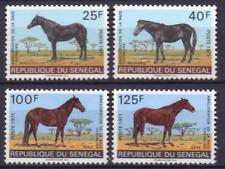 SENEGAL Mi 448-49 458-59 MH paarden; horses; Pferde 1065