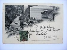 Tahiti Old Vintage Postcard French Polynesia Tahitian 1904 Undivided Pc