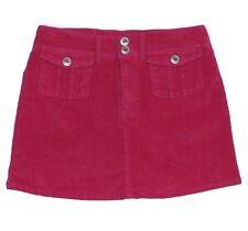 Maurices Womens Skort Shorts Skirt Pink Junior Size 3 4 Corduroy Stretch