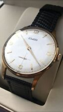 vintage watch rare duward oversize swiss made as 1130 uomo no chronograph reloj