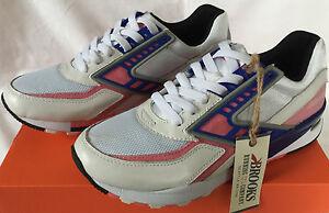 Brooks Regent 1102051D137 Retro Pink Lemonade Marathon Running Shoes Men's 10