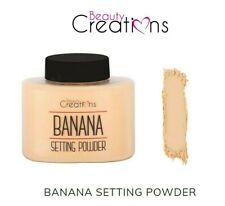 Beauty Creations Banana Setting Powder- Matte Finish, Keep the Makeup long last
