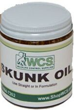 Wcs Skunk Oil 4 Ounce Has A Mild Buttery Smell For Trapping