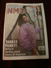NME 1990 NOV 17 BETTY BOO BOB GELDOF EMF GALLIANO PALE SAINTS NATALIE MERCHANT