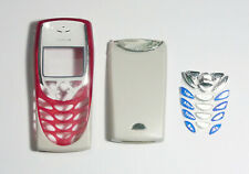 red white Housing Cover Case Fascia Faceplate for Nokia 8310 8310i red white