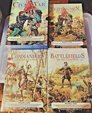 The Civil War-3 Volume Boxed Set-Illustrated by William C. Davis