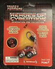 Transformers Heroes of Cybertron Generation MOSC G1 Cliffjumper Keychain 2006