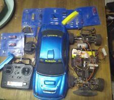 Subaru 1/10 rc bycmo a remettre en état ou pour pièces , accessoires