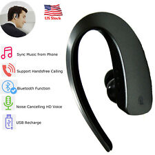 Bluetooth Headset Noise Cancelling Headphone With Mic for Samsung S9 S8 S7 Lg G6