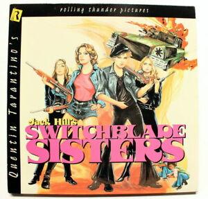Quentin Tarantino Presents SWITCHBLADE SISTERS LASERDISC - 70's Exploitation LD
