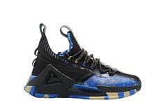 [E01911] Mens Peak Taichi Shark Black Light Gold Basketball Shoes