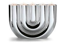 Philippi Design Double U Tealight Holder NIP Stylish Candle Holder A.Chrome