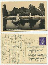 14694 - Wien - Schönbrunn - Nymphenbrunnen - Echtfoto - AK, gelaufen 4.5.1942