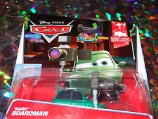 "DISNEY PIXAR CARS ""DASH BOARDMAN"" Die-Cast Metal, Scale 1:55, Brand New, Mattel"
